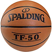 Spalding TF50 Outdoor 73-852Z - Pelota de baloncesto, color naranja, talla 5