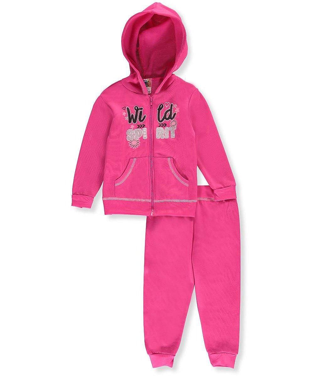 Angel Face Little Girls' 2-Piece Fleece Sweatsuit 5-6