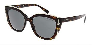 Tiffany Gafas de Sol T TF 4148 DARK HAVANA/GREY mujer ...
