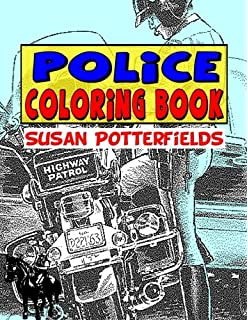 Police Station Coloring Book (Dover Coloring Books): Cathy Beylon ...