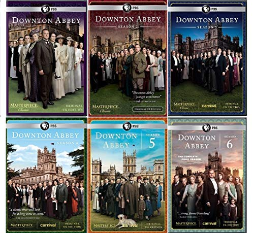 Masterpiece Classic: Downton Abbey Seasons 1-6 Complete Series Collection (Original U.K. Edition) from LOOK ABOVE