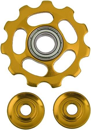 Fahrrad Schaltwerk Stützrad Aluminium Gang Umlenkrolle 11T MTB Haltbar