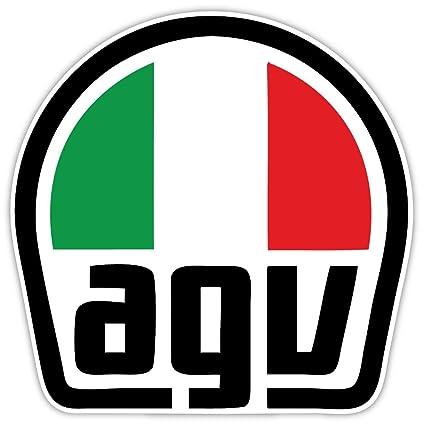 Amazon.com: AGV Amisano Gino Valenza - Adhesivo para casco ...