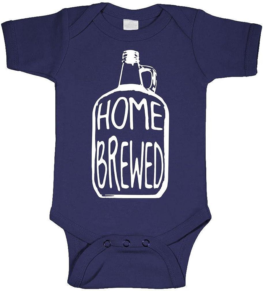 Home Brewed - Wine Beer Brew Craft - Cotton Infant Bodysuit