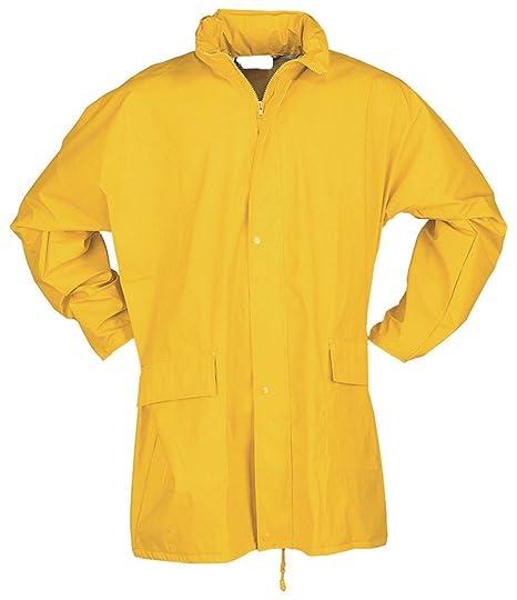 Pu Gelb 63 Regenjacke Elotex FlexibelBekleidung MqSVpUzG