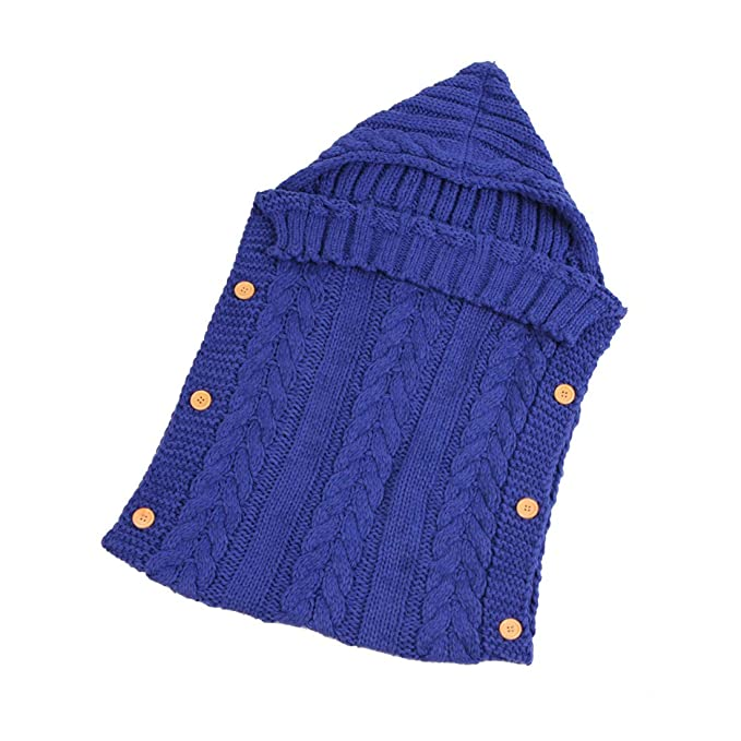 Zhhlinyuan Saco de Dormir para Bebés Recién Nacidos Swaddle Wrap ...