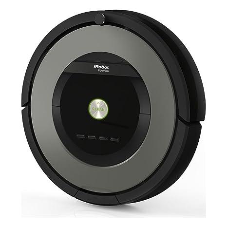 iRobot Roomba 891 aspiradora robotizada Sin bolsa Negro, Marrón 0,6 L - Aspiradoras robotizadas (Sin bolsa, Negro, Marrón, Alrededor, 0,6 L, AeroForce, ...