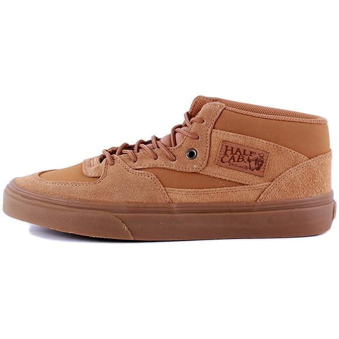 36eb534d95d707 Vans Half Cab Suede Buck Tobacco Brown Skate Shoes UK 6  Amazon.co.uk  Shoes    Bags