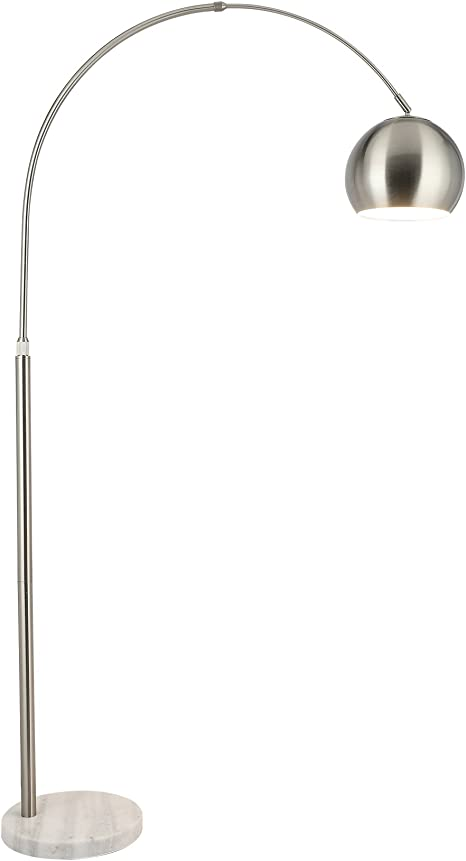 Co Z Modern Arc Floor Lamp With 360 Rotatable Hanging Shade