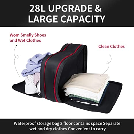 Set of 3 Packing Cubes Home /& Camping Great for Travelling Zipped Compartments Storage Bags with Easy Fit in Travel Bag Mountain Warehouse Travel Organiser