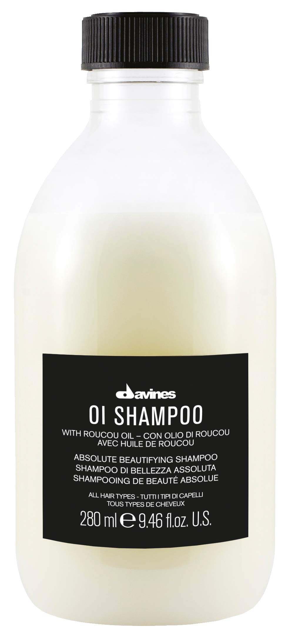 Davines OI Shampoo | Nourishing Shampoo for All Hair Types | Shine, Volume, and Silky-Smooth Hair Everyday | 9.46 Fl Oz