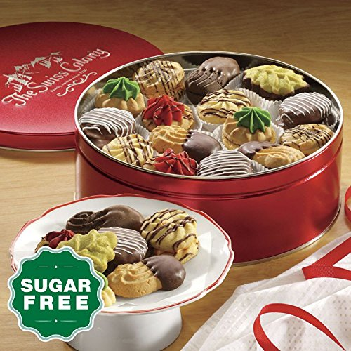 13 1/4-oz. net wt. Sugar-Free Holiday Cookies from The Swiss Colony