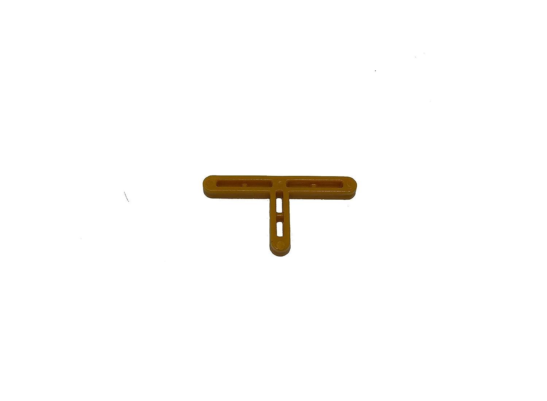 DOVARO T-05B Abstandshalter f/ür Fliesen 5 mm Gelb