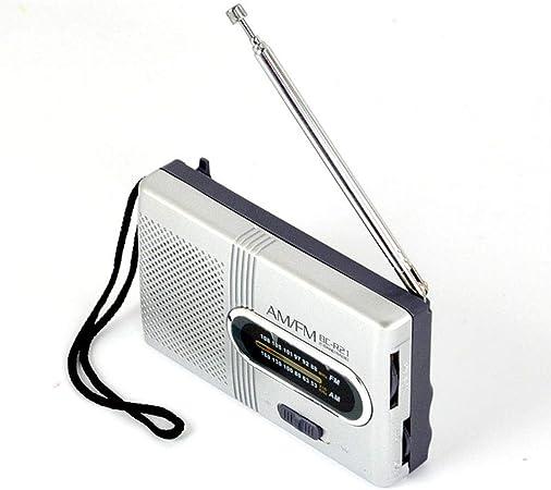 JUAN Antena Telescópica De Radio De Bolsillo, Mini Portátil ...