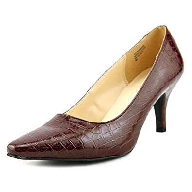 0797b94d0964 Karen Scott Womens Clancy Snake Print pumps Shoes Wine 8 M US