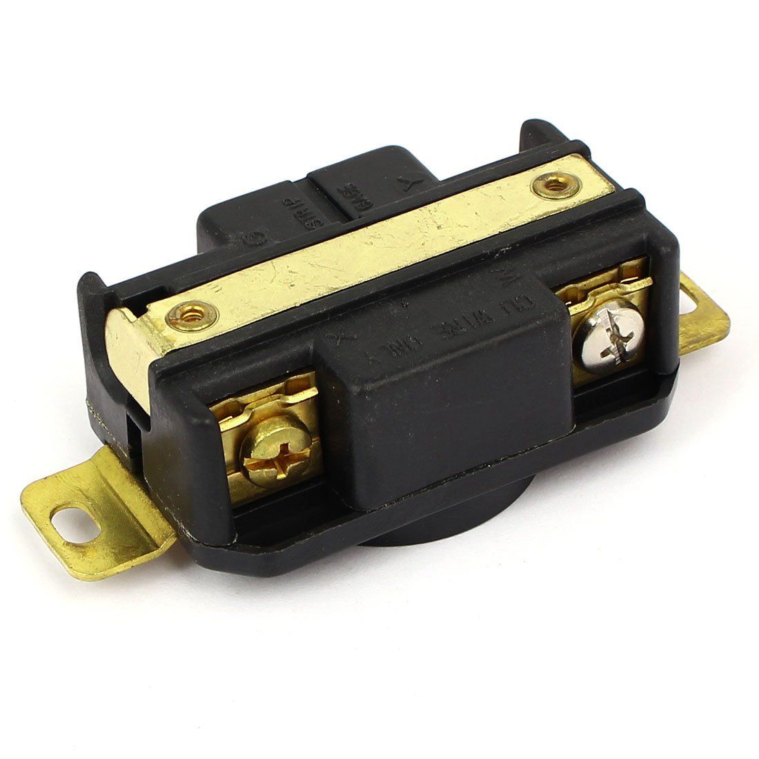 DealMux AC 125V/250V 20A US Socket Twist Lock Electrical Receptacle LK-2421F NEMA L14-20R