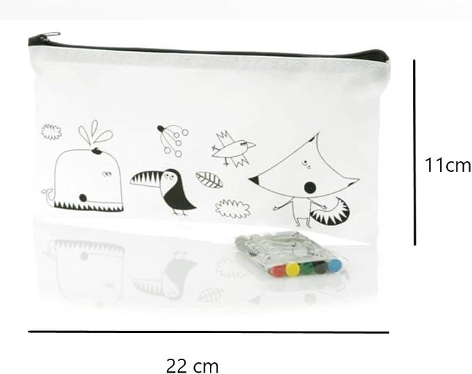Emotiset Lote de 30 estuches para colorear y 30 packs de ceras,añadimos 1 lápiz con borrador y 1 sacapuntas por Lote.Regalo Original para cumpleaños,fiestas,colegios,comuniones,eventos infantiles: Amazon.es: Juguetes y juegos