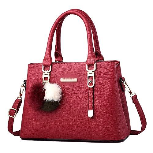 032ac8ad4 YAANCUN Bolsos de Mujer Bolso Señora Tote PU Piel Bolso de Hombro Mujers  del Trabajo: Amazon.es: Zapatos y complementos