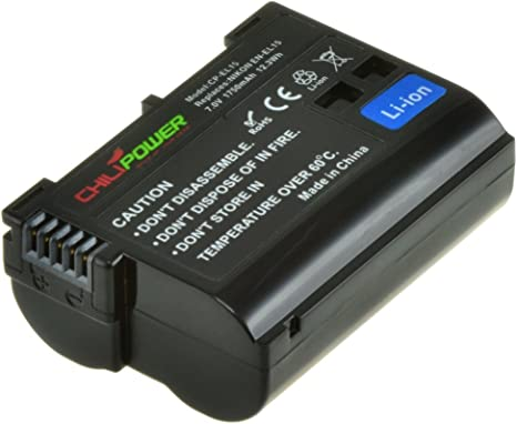 Original Chili Power EN-EL15 – Batería para Cámara Réflex Digital ...