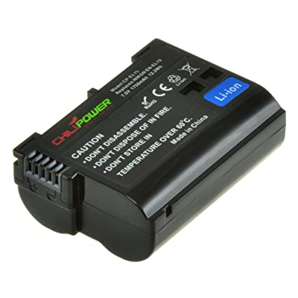 Original Chili Power EN-EL15 - Batería para Cámara Réflex Digital ...