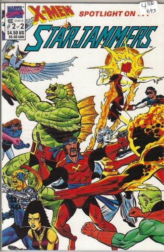 X-Men Spotlight on Starjammers #2 Comic Book