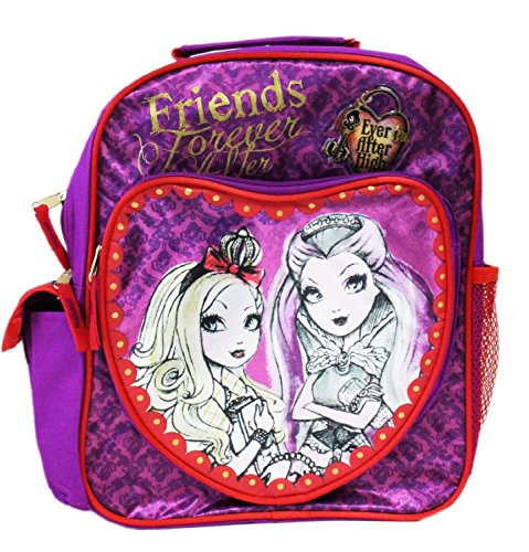 Small Purple After Heart Backpack