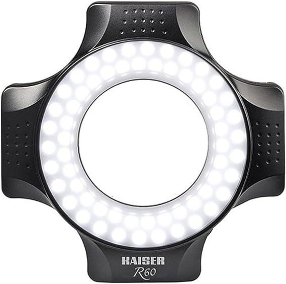 Kaiser Fototechnik 3252 Ringleuchte R60 Mit 60 Tageslicht Leds