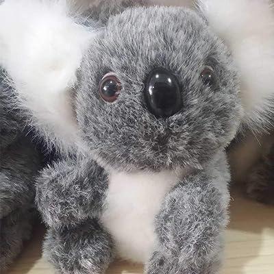 Adminitto88 Koala muñeca australiana pequeño koala peluche de juguete niña almohada cojín de peluche de juguete de dibujos animados lindo muñeca muñeca para niños pareja suerte koala muñeca: Bricolaje y herramientas