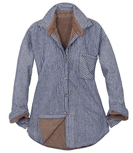Flannel Lined Jean Jacket - 6