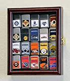zippo case display - 20 Zippo Lighter Display Case Cabinet Holder Wall Rack Box - Lockable, Cherry