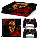 ZoomHit Ps4 Playstation 4 Console Skin Decal Sticker Skull + 2 Controller Skins Set