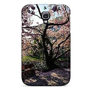 Excellent Design The Flower Tree Phone Case For Galaxy S4 Premium Tpu Case
