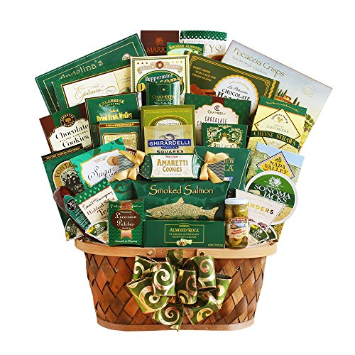 California Delicious Gourmet Extravaganza Gift Basket,  8 Pound by California Delicious