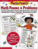 Mega-Funny Math Poems & Problems (Grades 3-6)
