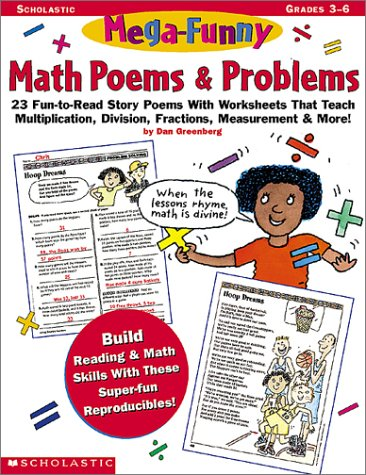 Amazon.com: Mega-Funny Math Poems & Problems (Grades 3-6 ...