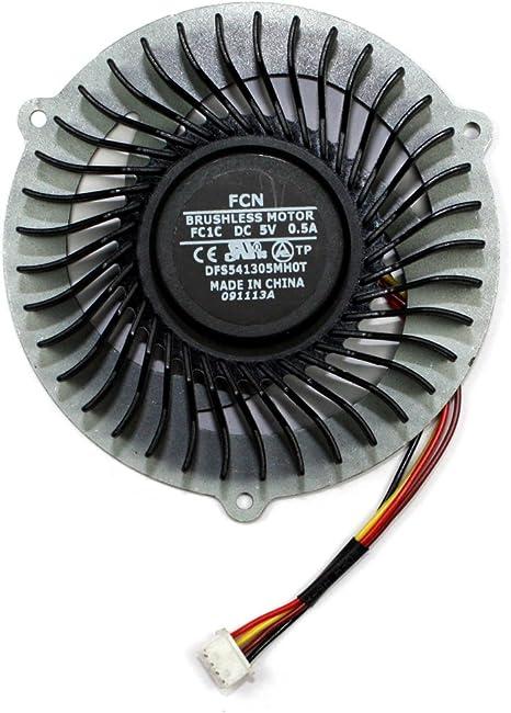 Power4Laptops Ventilador para Ordenadores portátiles Compatible con Lenovo IdeaPad Y500: Amazon.es: Informática