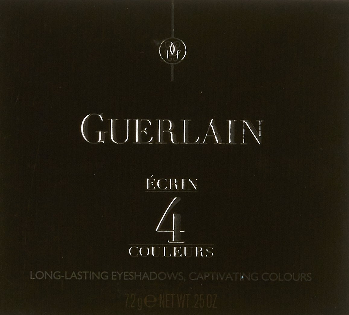 Guerlain Ecrin 4 Couleurs Eye Shadow, Palette 03 Les Verts, 0.25 Ounce