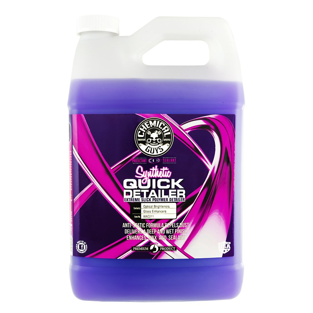 Chemical Guys WAC211 Synthetic Quick Detailer, 128 fl. oz