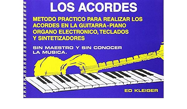 Los Acordes: Amazon.es: Kleiger, Ed, Guitar: Libros