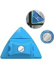 Lateral doble magnético limpiador de ventanas, ajustable magnético doble vidrio de ventana limpiaparabrisas Glider equipo