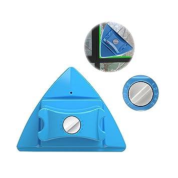 Baffect Inicio lateral doble magnético ventana limpiador tanto de cristal lado de la superficie Herramientas cepillo de limpieza del limpiaparabrisas para ...