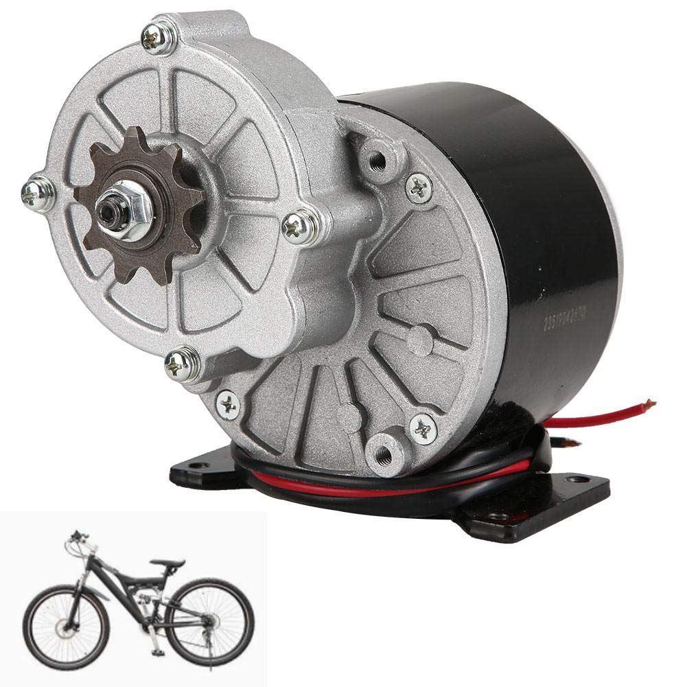 Hongzer Untersetzungsmotor 3200 U//min 24V 350W MY1016Z3 Untersetzungselektromotor B/ürste Gleichstrommotoren Untersetzungsgetriebe mit 9-Zahn-Kettenrad f/ür E-Bike-Scooter