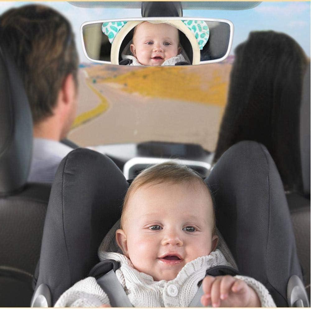 Kiddiezoom R/étroviseur de voiture pour b/éb/é avec vision de nuit et cam/éra destin/ée /à chaque mouvement de b/éb/é