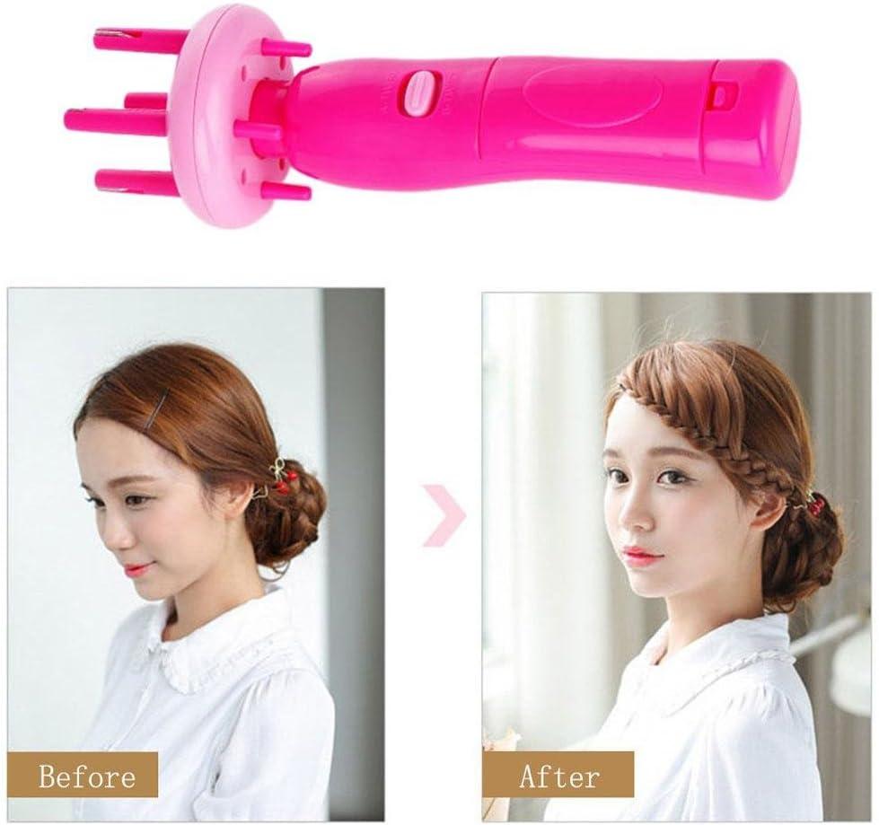 X-Press automatique Femmes Électrique Portable À faire soi-même Coiffure Outil Tresse Machine cheveux