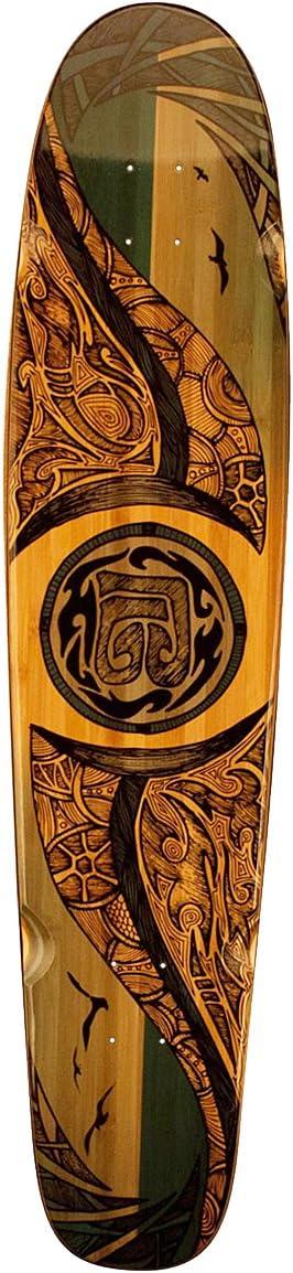 Bamboo Skateboards Hard Good Mirrored Sea Long Board