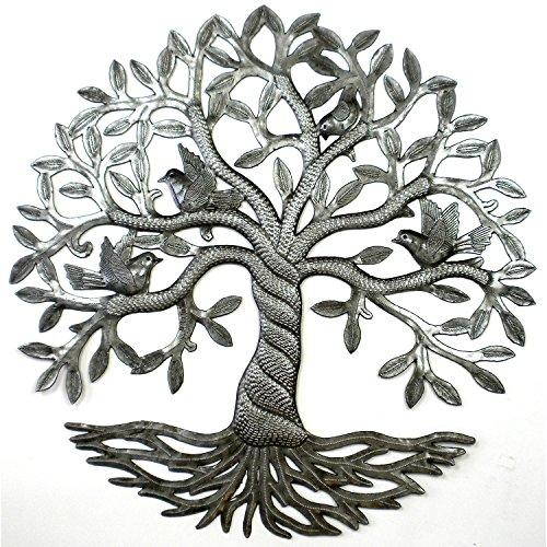 Twisted Tree of Life  Wall Art - Handcrafted in Haiti