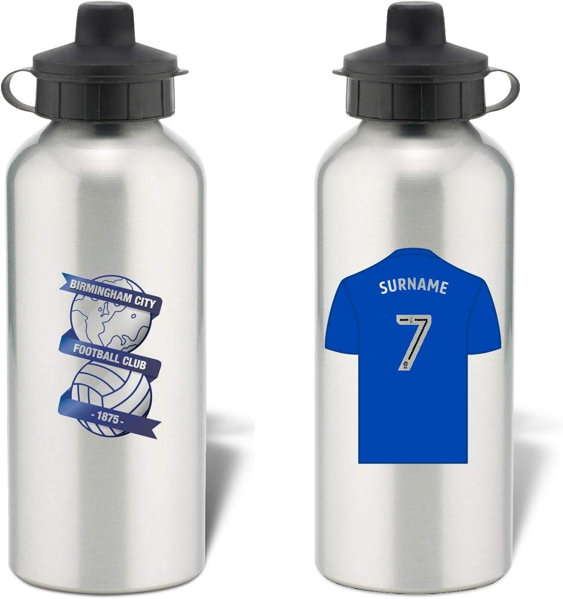 Birmingham City FC - Botella de agua deportiva (aluminio)