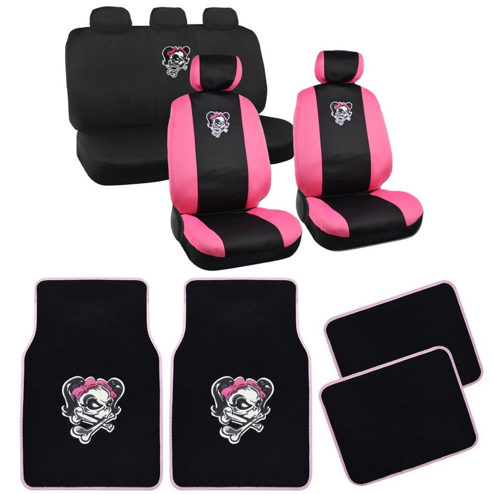 Sugar Skull Car Seat Covers