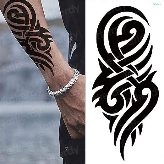 tzxdbh Etiqueta engomada del Tatuaje Temporal, 3pcs Peony de Rose ...