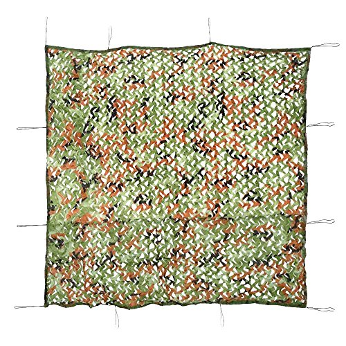 2 * 2m Camouflage Net Outdoor Hunting Camping Woodlands Blinds Army Military Camouflage Camo Net Cover